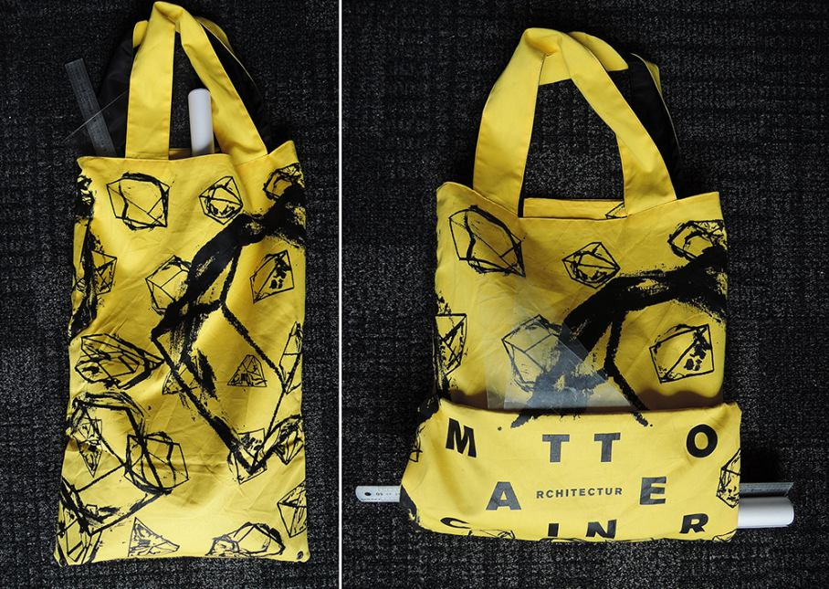 MCA Totebag Yellow