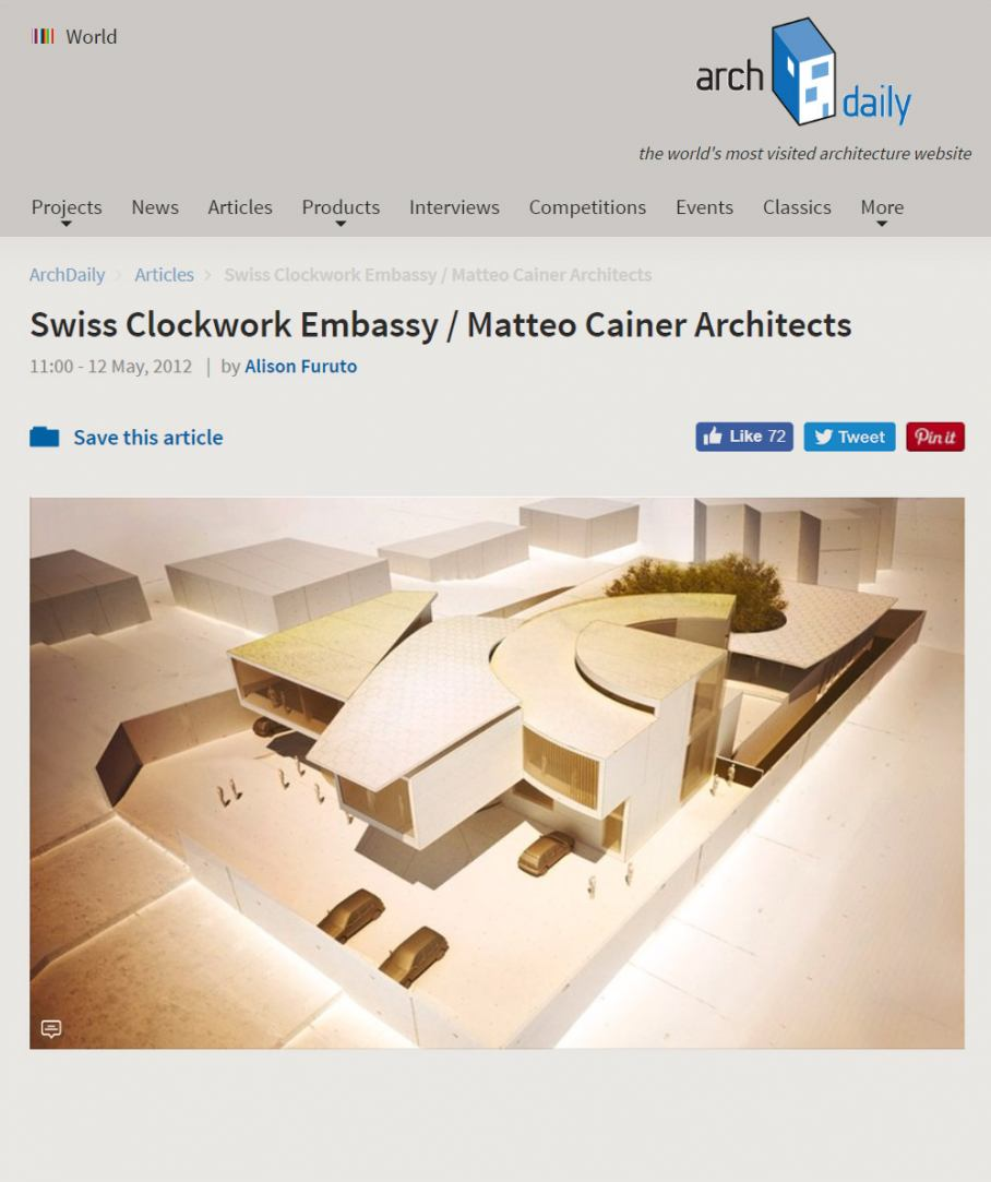 MCA Archdaily Clockwork Embassy