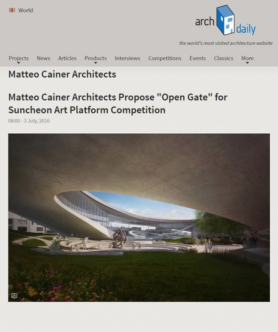 MCA Archdaily Open gate