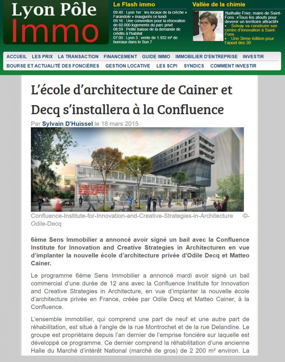 Entreprise D Architecture Lyon publications / media - page 3